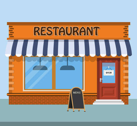 modern fast food restaurant