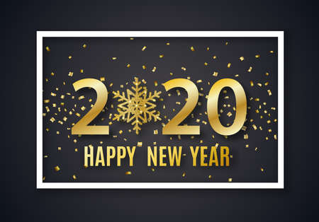 2020 New Year background