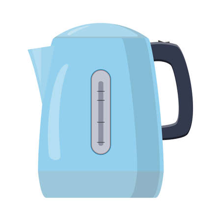 electric kettle icon isolated on a white background. can be used on websites, UI, UX, web and mobile phone apps. Vector illustration in flat style. Stock fotó - 137870980