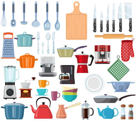 kitchen tools set icon