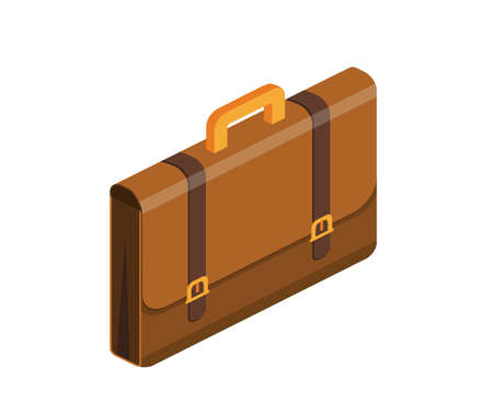 Briefcase with lock icon