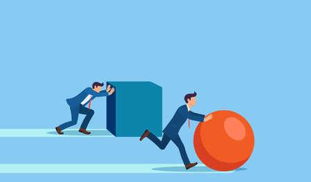 Winning strategy business concept.  イラスト・ベクター素材