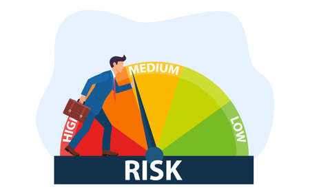 The concept of risk on the speedometer