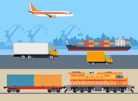 Cargo logistics transportation