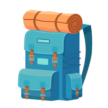 Backpack as Travel and Tourism