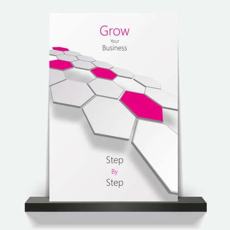 hexagone: Business brochure design