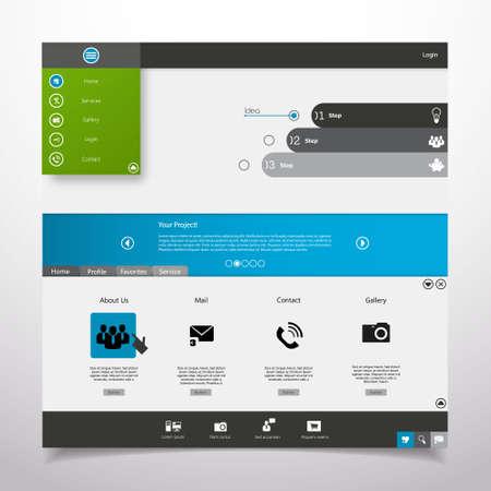 minimal: Website Template Minimal theme