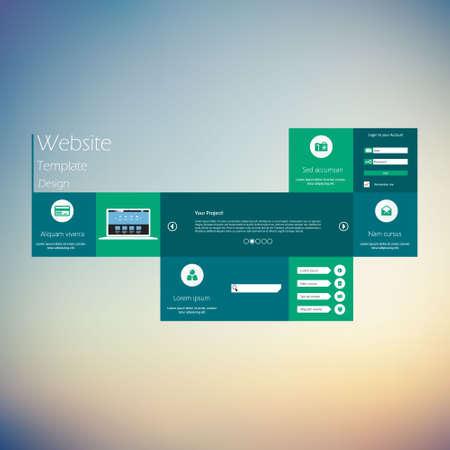 Creativ Colorful Flat Website Template