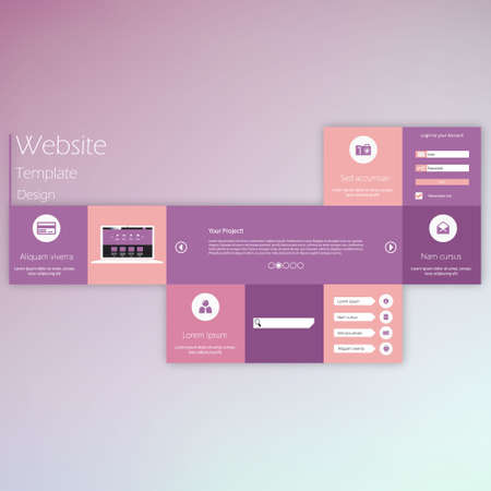 creativ: Creativ Colorful Flat Website Template