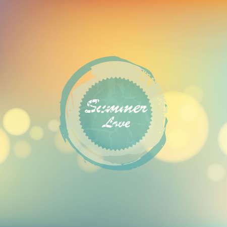 ligh: soft ligh summer background Illustration