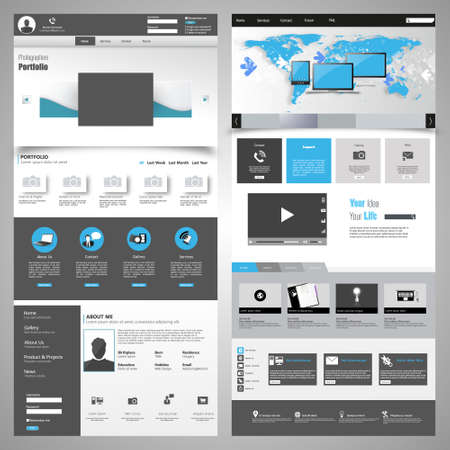 submenu: Great Website elements pack #2