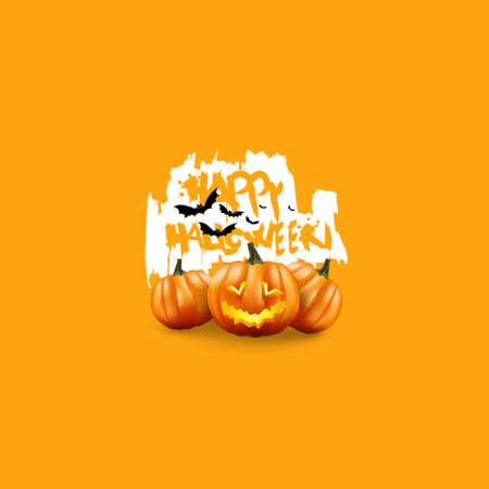 jack o: Minimal Halloween Poster. Scary Jack O Lantern halloween pumpkin with candle light inside,