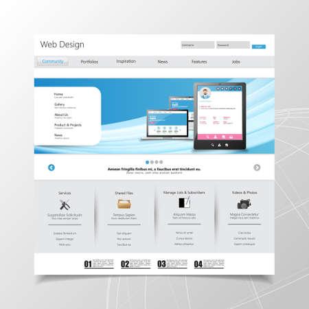 비즈니스 웹 사이트 템플릿