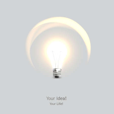 conceptual bulb: stylish conceptual digital light bulb idea design