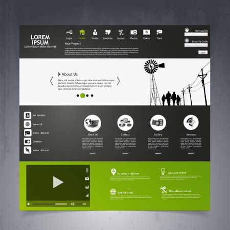 shilouette: Modern Website Template