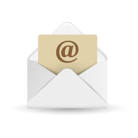 E mail icon. Vector illustration  Vector