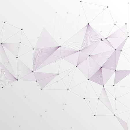 Abstract Vector Polygonal Background for Business