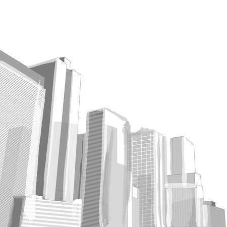 cityscape: Urban cityscape, Vector Abstract illustration.