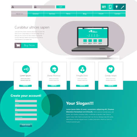 website template: Business Professional Website Template.
