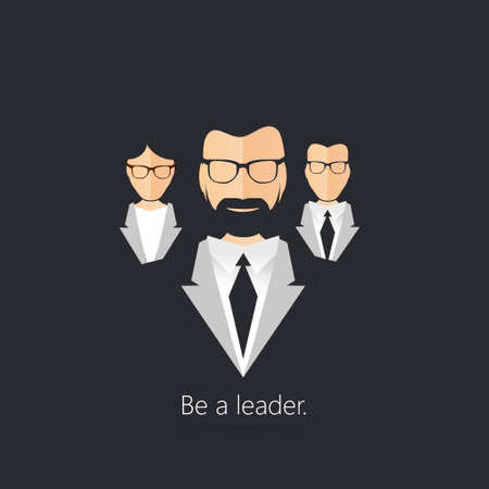 leader: Leader of the team. The Successful team led by a great leader.