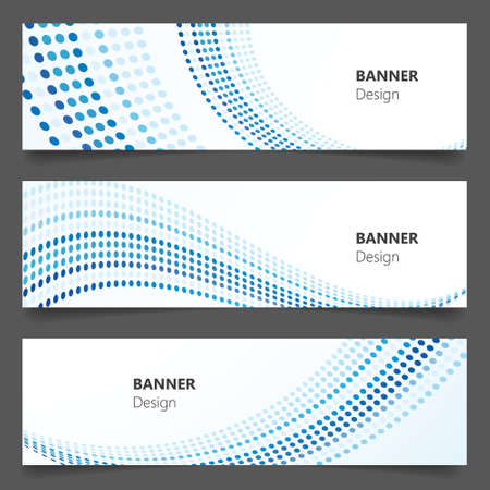 technology banner: Abstract technology, business banner background, Vector Eps 10