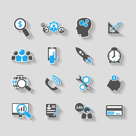 web icons: Web Business Icons