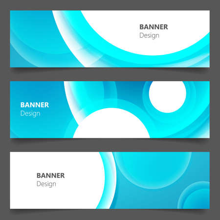 10th: Website banner or header set. EPS 10th Illustration