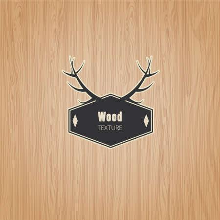 Vector Wood texture template