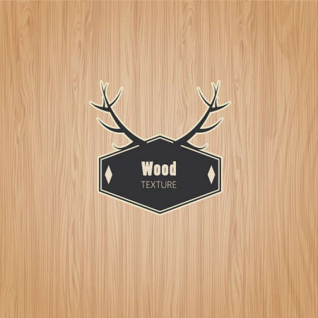 Vector Wood texture template