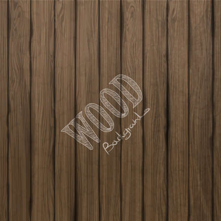wood planks: Vector wood plank background not TRAC Illustration