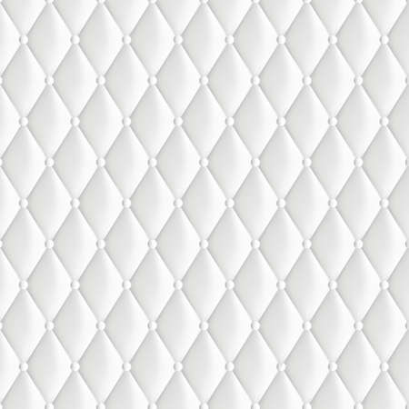 padding: Abstract background texture of an old natural luxury, contemporary style with leather rhombus. Classic white retro of wall, door, or sofa studio interior