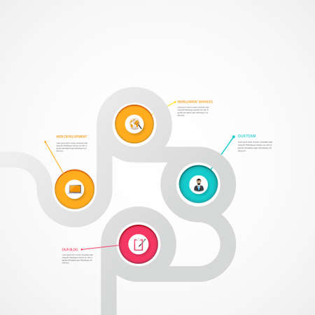 layout: Vector EPS10 Modern Design Layout