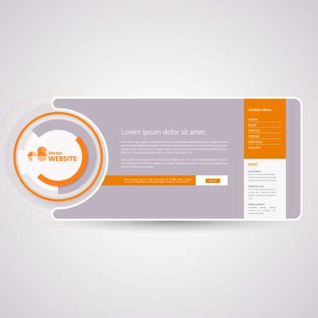 minimalistic: Minimalistic website template Creative Design