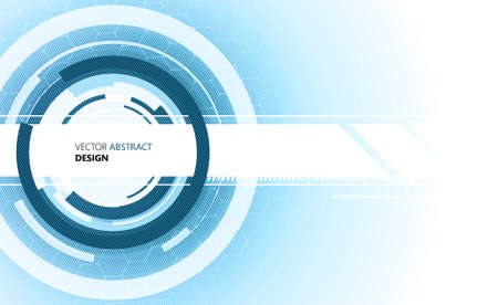 sg: vector background abstract concept communication technology Illustration