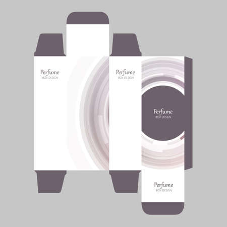 toilette: Perfume Box Design