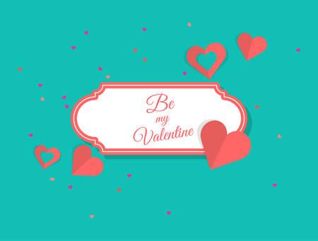 Valentines Day Elements, Label, Illustration