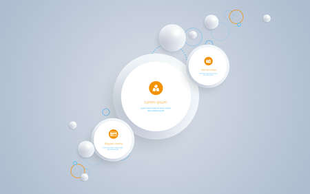 Abstract Business Background Design with Space for Your Text. Illustration