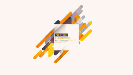 Minimalistic design, creative concept, modern diagonal abstract background. Geometric element. Vector-stock illustration
