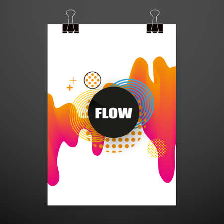 Modern abstract covers. Cool gradient shapes composition. Futuristic design. Eps10 vector