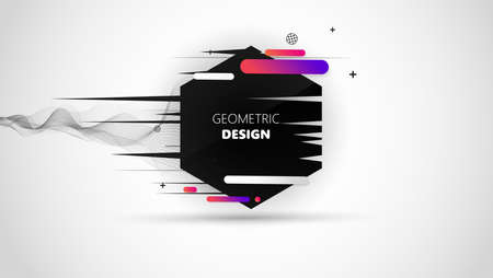 Modern Minimal Geometric Design, Illustration
