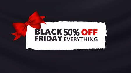 Black friday discount vector background, promotion, off sale design.