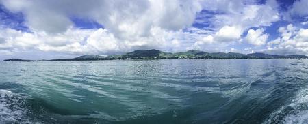 태국에서 푸 켓 섬 및 안다만 해의 아름 다운 풍경.