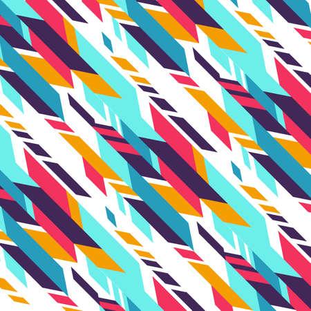 Geometric pattern, Modern floral ornament vector illustration.