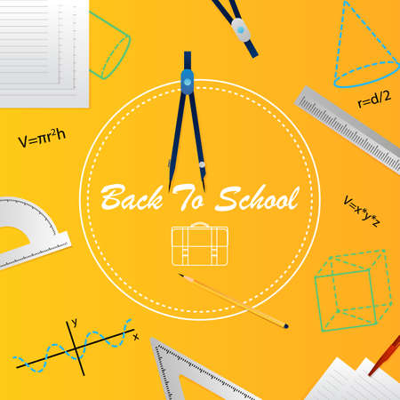 Back to school template.