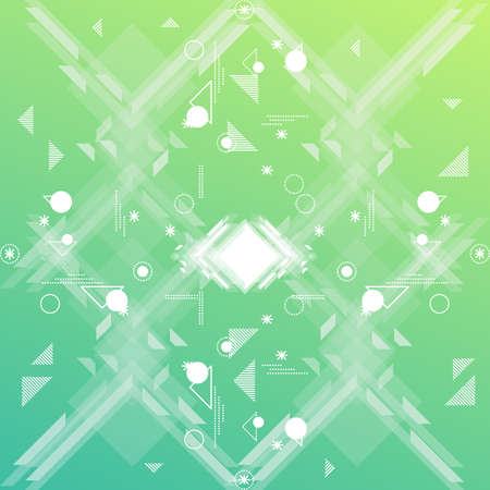 Abstract geometric design.
