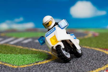motor officer: police on track