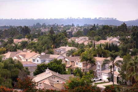 郊外カリフォルニア州カールスバッド周辺を撮影 写真素材