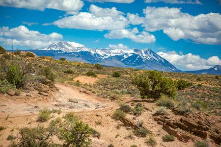 desert ecosystem: Off roading views of Moab, Utah