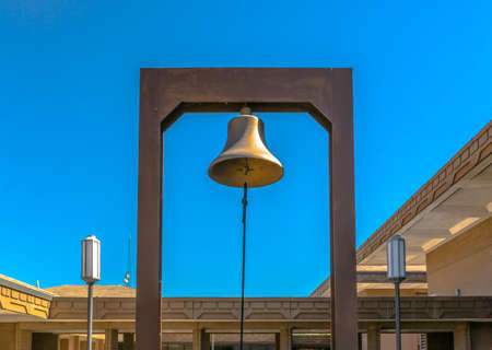 Bell of a government building in Provo