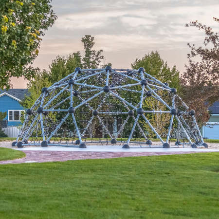 Dome climbing frame for children in Daybreak Utah